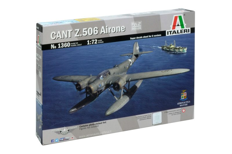 Aircraft 1/72 CANT.Z 506B Airone  (Historic Upgrade) - ITALERI referencia IT1360 IT1360