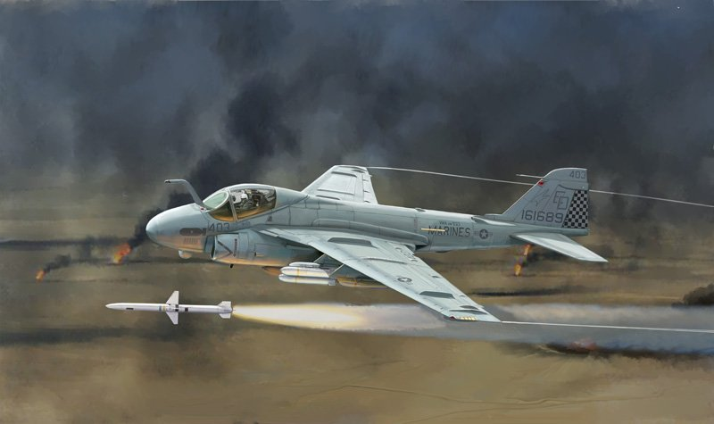 "Aircraft 1/72 A-6E Tram intruder ""Gulf war"" - ITALERI referencia IT1392 IT1392"