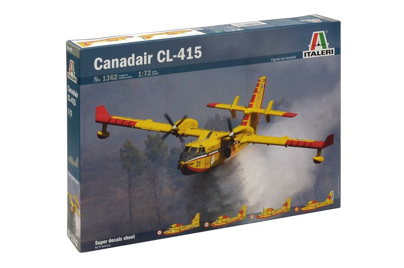 Aircraft 1/72 Canadair CL-415 - ITALERI referencia IT1362 IT1362
