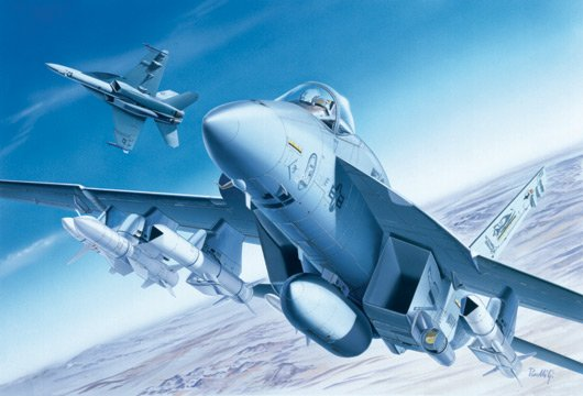Aircraft 1/72 'F/A-18E  Super Hornet - ITALERI referencia IT0083 IT0083