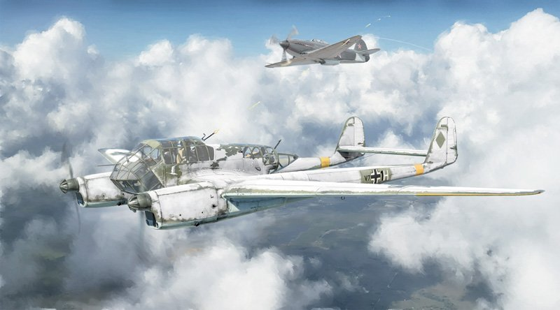 Aircraft 1/72 FW 189 A-1/A-2 referencia IT1404 IT1404
