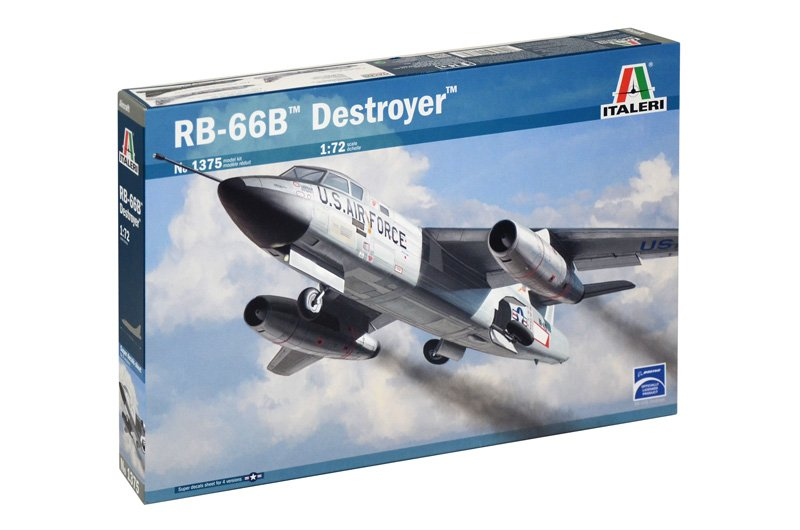 "Aircraft 1/72 RB-66B ""DESTROYER"" - ITALERI referencia IT1375 IT1375"