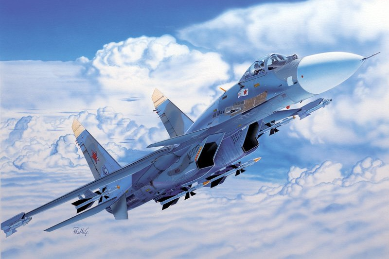 Aircraft 1/72 Sukhoi SU-27 D sea Flanker - ITALERI referencia IT0197 IT0197