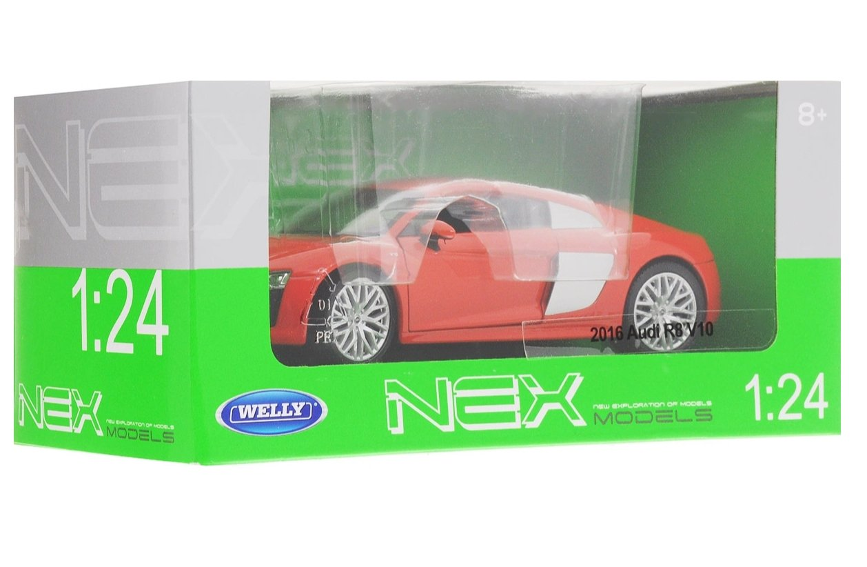 AUDI R8 V10 2016 1/24 WELLY referencia 24065 24065