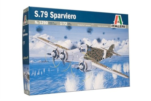 Aircraft 1/72 S-79 Sparviero, II guerra mundial - ITALERI referencia IT1290 IT1290