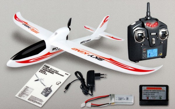 Avion Sky King RTF RC 2,4Ghz WLTOYS referencia F959 F959