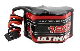 BATERIA RECEPTOR 6V 1800MAH PIRAMIDE ULTIMATE RACING referencia UR4456 UR4456