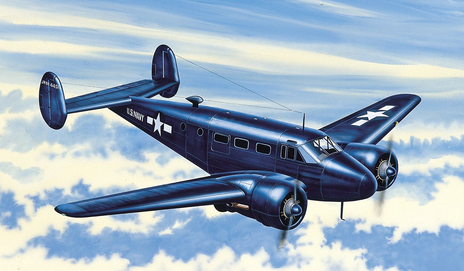 Beechcraft C-45 Expeditor 1:72 referencia PM-304 PM-304