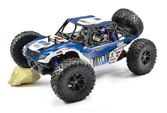 Coche rc buggy Outlaw 1/10 Brushless 4wd ultra-4 RTR FTX referencia FTX5571 FTX5571
