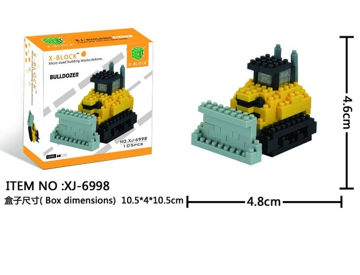 BULLDOZER X-BLOCK 4 MM referencia XJ6998 XJ6998