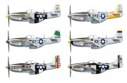 Producto Aircraft 1/48 P51 D/K Pacific ACES - ITALERI