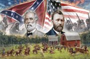 Producto BATTLE SET 1/72 FARMHOUSE BATTLE AMERICAN CIVIL WAR 1864