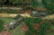 Producto Camiones militares 1/72 M3 Half Track (2 fast assembly mod) ITALERI