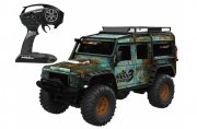Producto  CRAWLER LAND ROVER DEFENDER 1/10 RTR CAMUFLAJE