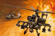 Producto Helicoptero militar 1/72 AH-64A Apache - ITALERI