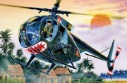 Producto Helicoptero militar 1/72 OH-6 A Cayuse - ITALERI