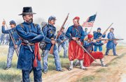 Producto HISTORICS 1/72 UNION INFANTRY AND ZOUAVES