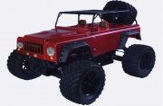 Producto JEEP BRUSHLESS MEGA SWORD EBL CON LUCES 1/10 RTR VRX