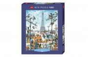 Producto Puzzle 1000 piezas, Eiffel Tower, Loup