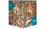 Producto Puzzle 1000 piezas Market Place, Gobel & Knorr (Triangular)