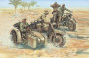 Producto SOLDIERS 1/72 WWII- GERMAN MOTORCYCLES