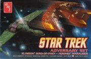 Producto Star Trek Adversary Set Klingon Bird of Prey & Ferengi Marauder
