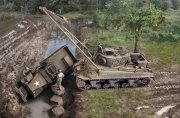 Producto Tanque 1/35 M32B1 Armored Recovery vehicle - ITALERI