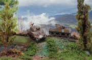 Producto Tanque 1/72 M4A3 75mm Sherman (2 fast assembly mod.) ITALERI