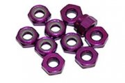 Producto TUERCA AUTOBLOCANTE ALUMINIO M3 PURPURA ULTIMATE RACING