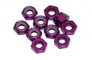 Producto TUERCA AUTOBLOCANTE ALUMINIO M4 PURPURA ULTIMATE RACING