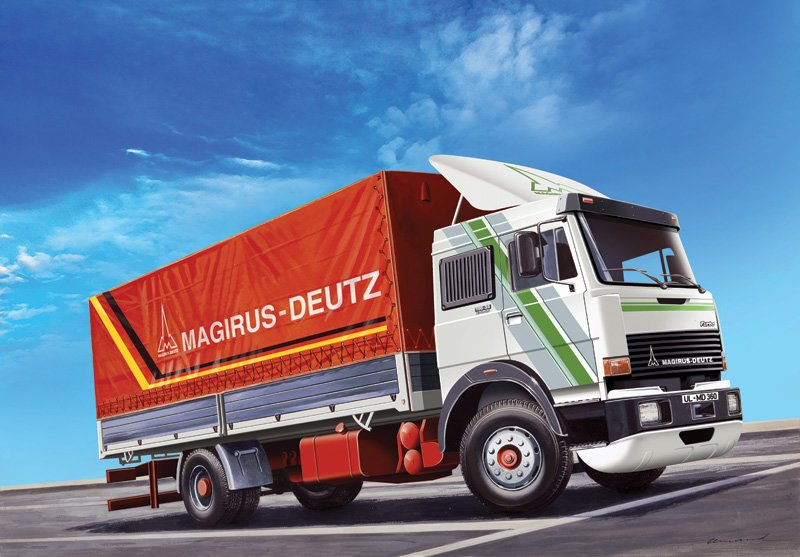 Camion 1/24 Magirus-Deutz 360M19 Canvas - ITALERI referencia IT3912 IT3912