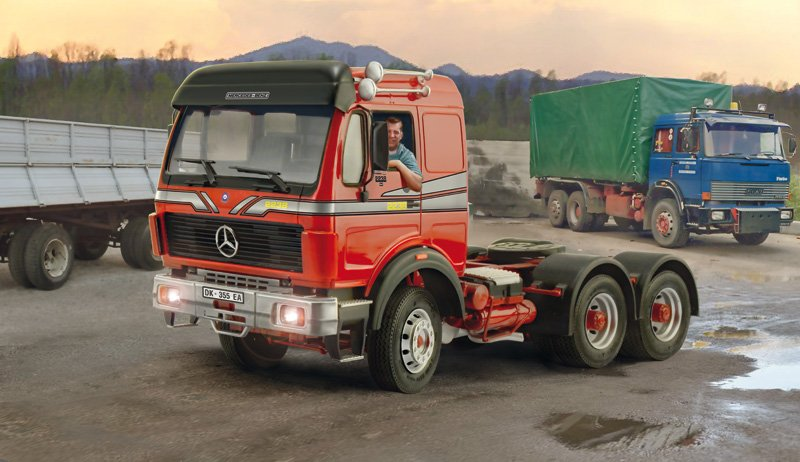 Camion 1/24 Mercedes BENZ 2238 6x4 - ITALERI referencia IT3943 IT3943