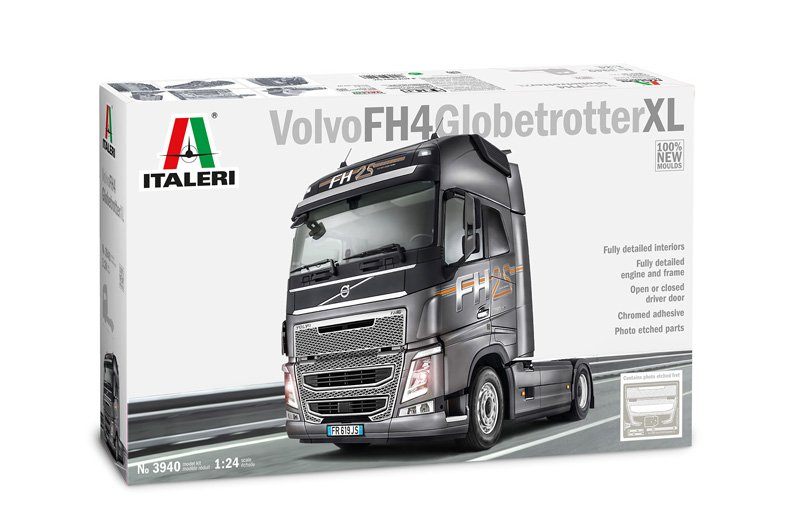 Camion 1/24 Volvo FH4 Globetrotter XL - ITALERI referencia IT3940 IT3940