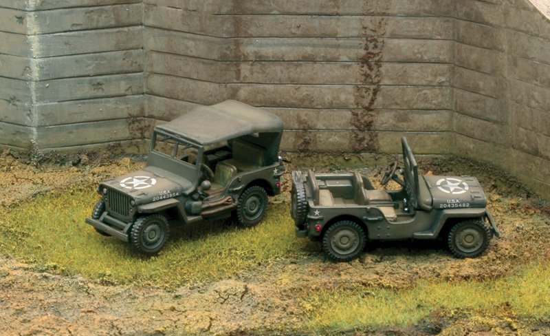Camion militar 1/72 Willys Jeep 1/4 Ton 4x4 (2 Fast assembly) - ITALERI referencia IT7506 IT7506