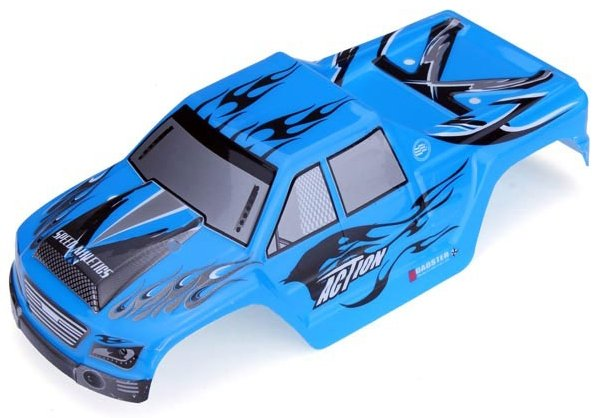 CARROCERIA MONSTER TRUCK AZUL 1:18 referencia A979-04 A979-04