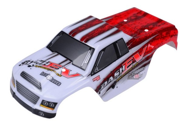 CARROCERIA MONSTER TRUCK ROJA 1:18 referencia A979-B-01 A979-B-01