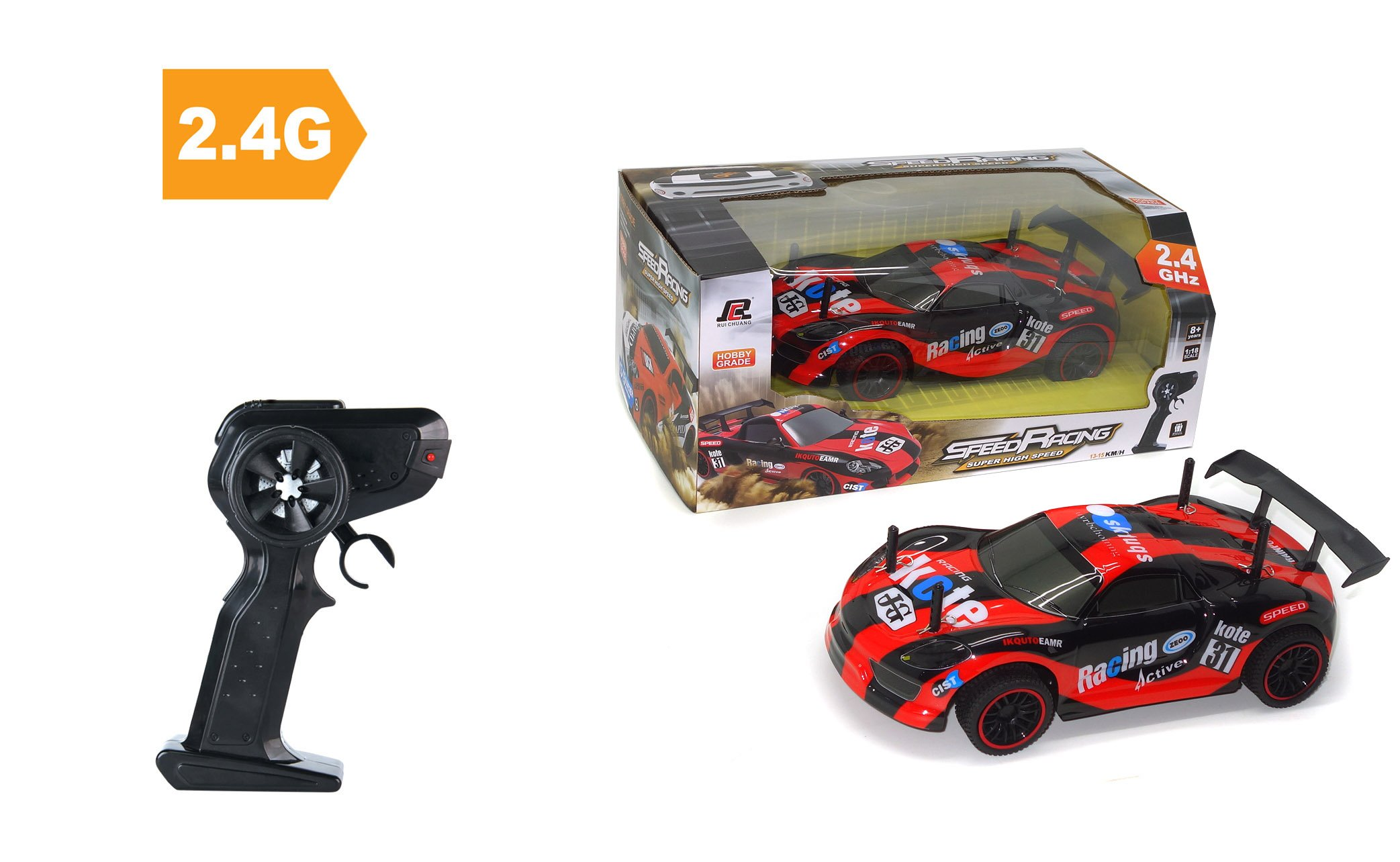 Coche rc carretera 1/18 speed racing referencia QY1810 QY1810