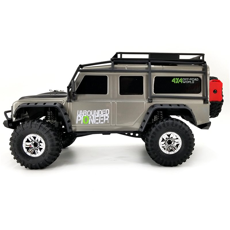 CRAWLER LAND ROVER DEFENDER 1/10 RTR GRIS referencia HB-ZP1002 HB-ZP1002