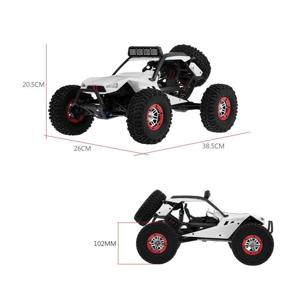 COCHE STORM 1/12 RTR WLTOYS 50KM/H referencia 12429 12429