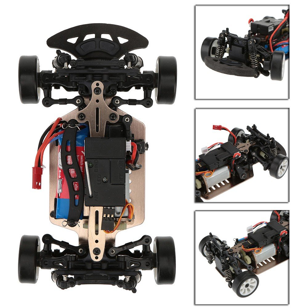 COCHE TOURING 1/24 RTR 4WD WLTOYS referencia A252 A252