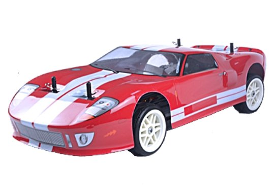 COCHE TOURING FORD GT40 BRUSHLESS X-RANGER EBD 1/10 RTR  referencia RH1026 RH1026