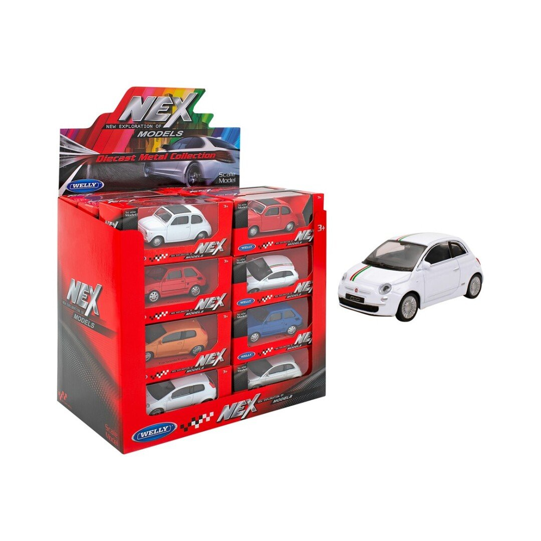 COCHES FIAT SURTIDOS 1:43 WELLY (12 MODELOS) referencia 38507 38507