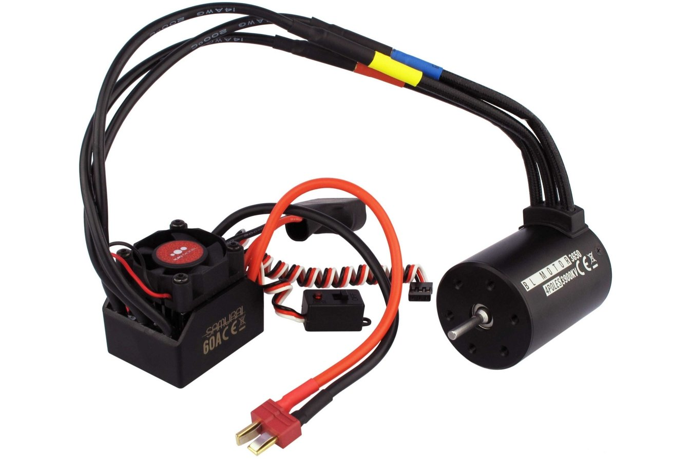 COMBO COCHE 1/10 BRUSHLESS  referencia 4107005 4107005