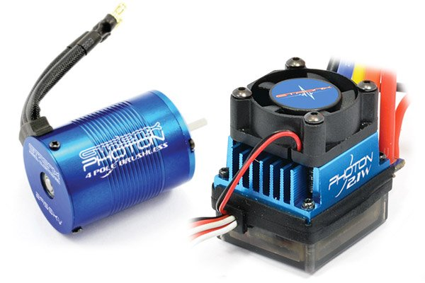 COMBO COCHE 1/10 BRUSHLESS referencia ET0412 ET0412
