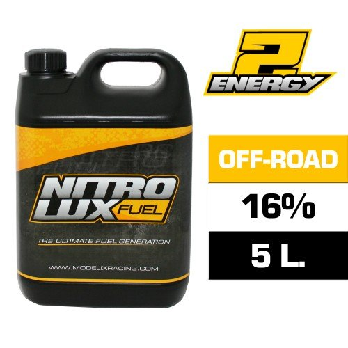 COMBUSTIBLE NITROLUX 16% (5 LITROS)  referencia NF01165 NF01165
