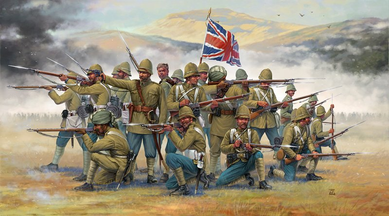 HISTORICS 1/72 British Infantry with Sepoys (Colonial wars) referencia IT6187 IT6187