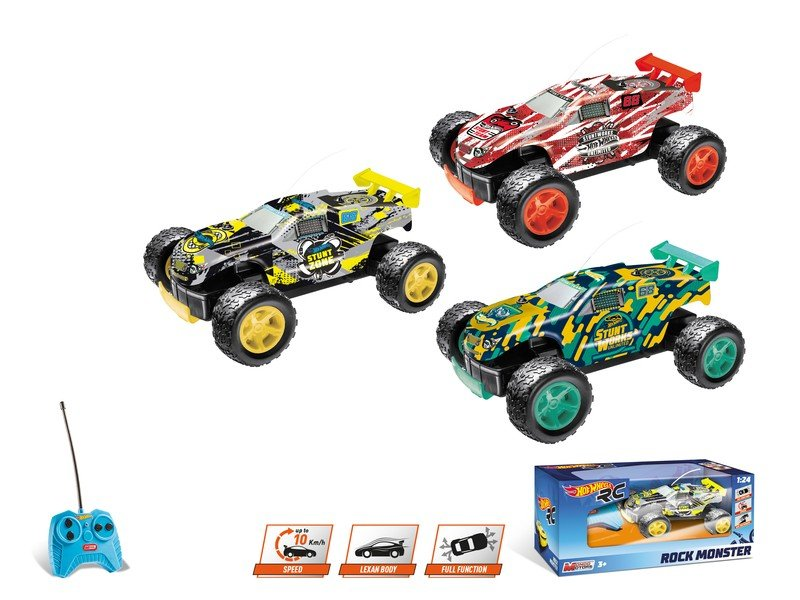 Hot Wheels Rock Monster rc 1/24 referencia 63339 63339