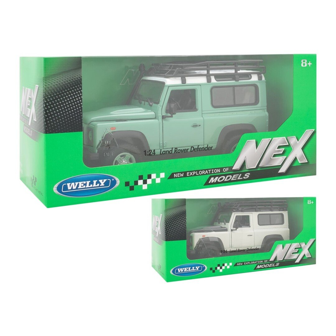 LAND ROVER DEFENDER 1/24 WELLY  referencia 22498SP 22498SP