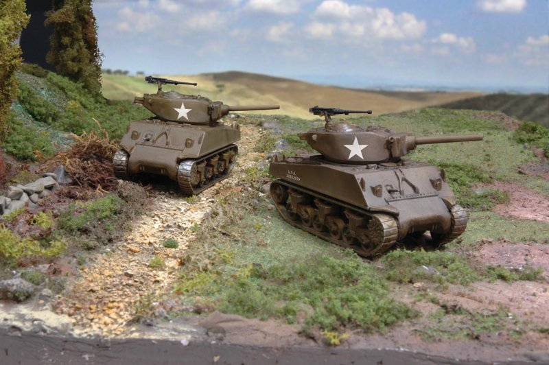 """Tanque 1/72 M4A3E2 """"Jumbo"""" (2 fast assembly mod.) ITALERI referencia IT7520 IT7520"""