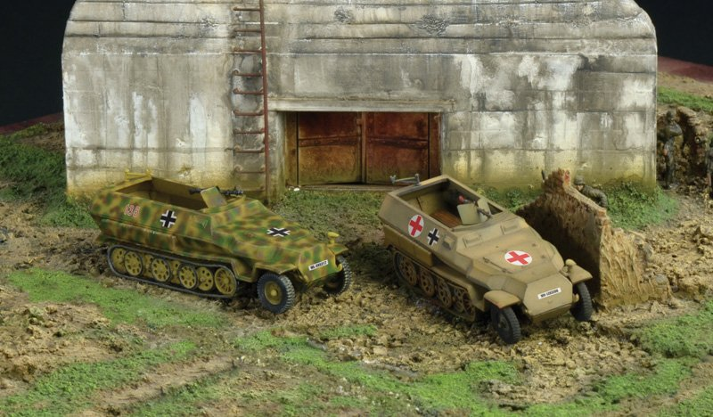 Tanques 1/72 Sd. Kfz. 251/1 Ausf. C (2 fast assembly mod.) ITALERI referencia IT7516 IT7516
